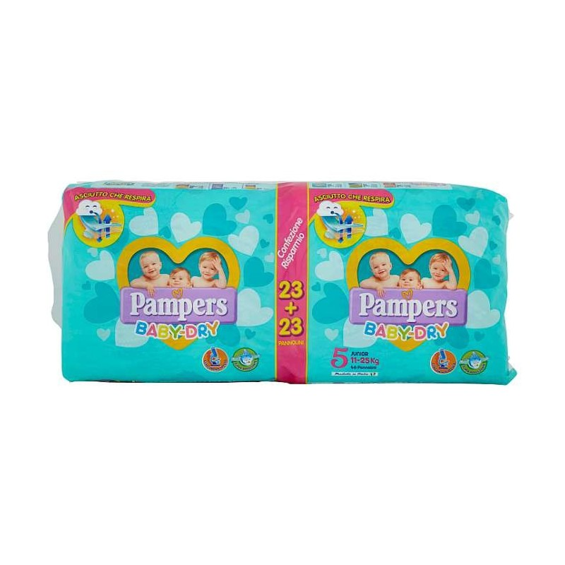 Pampers BABY DRY Junior x46