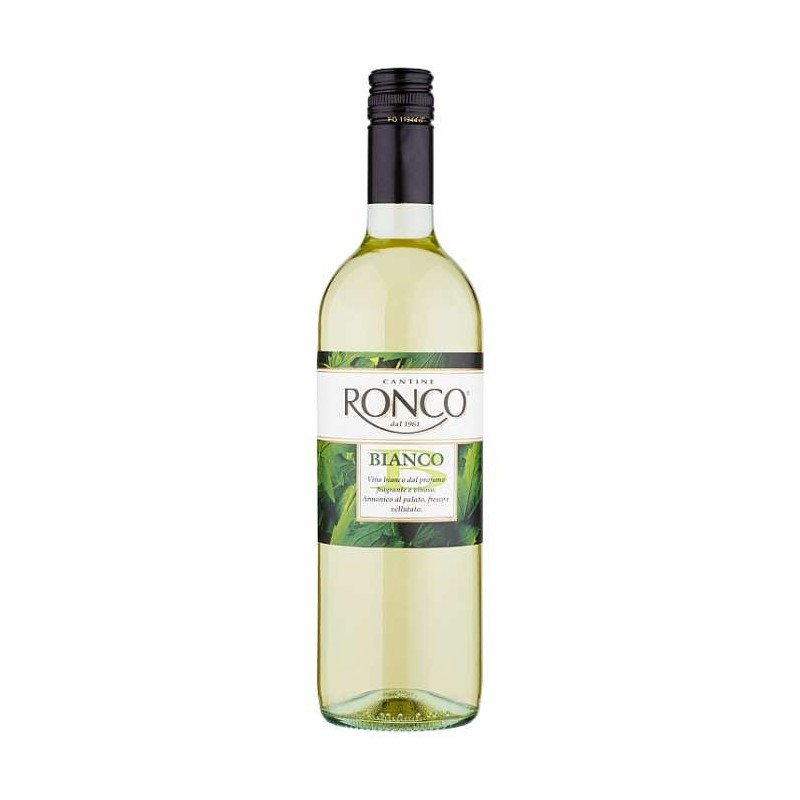 Cantine Ronco Bianco 0,75 l
